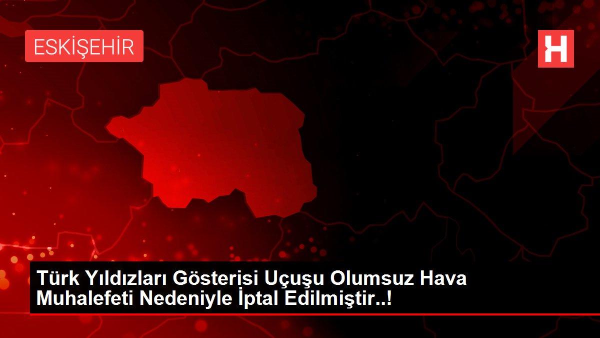 Türk Yıldızları Gösterisi Uçuşu Olumsuz Hava Muhalefeti Nedeniyle İptal Edilmiştir..!