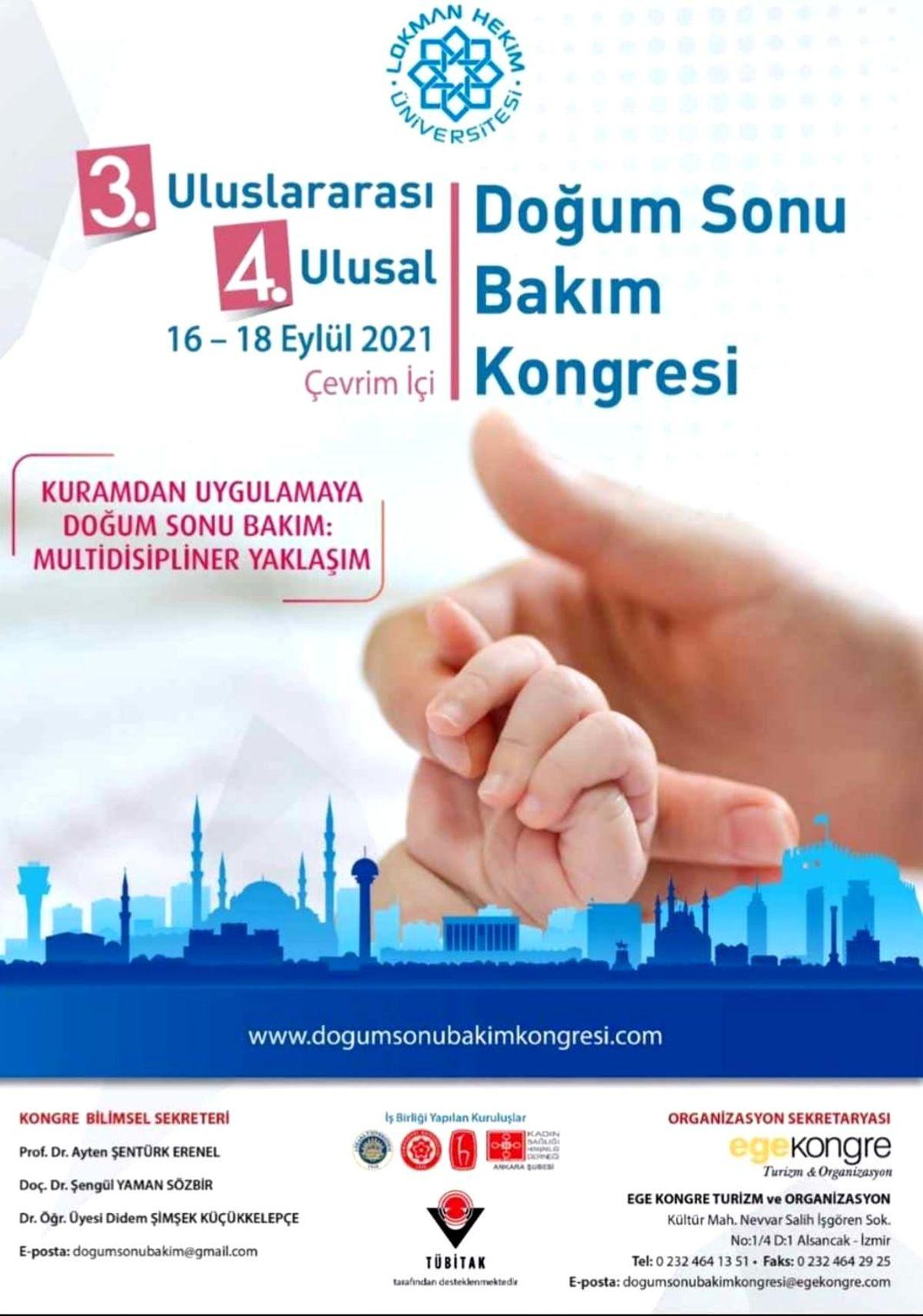 3. Uluslararası 4. Ulusal Doğum Sonu Bakım Kongresi