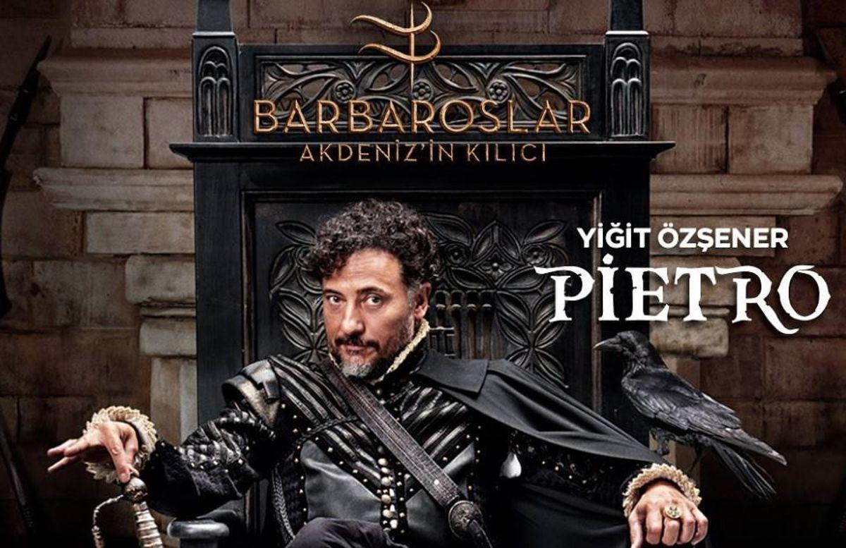 Barbaroslar Pietro kimdir? Barbaroslar: Akdeniz'in Kılıcı Pietro kim oynuyor, gerçekte kim?