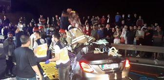 Kavacık: Beykoz'da feci kaza: 2 ölü, 4 yaralı