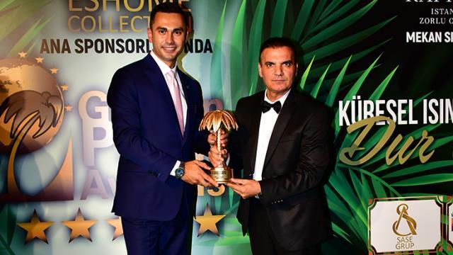 Cem Akşahin'e Altın Palmiye Ödülü: 'Yılın Turizm Yöneticisi' seçildi