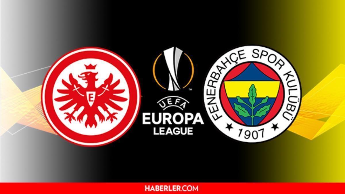 E.Frankfurt - Fenerbahçe maçı kaç kaç, maç bitti mi? UEFA Avrupa Ligi E. Frankfurt - Fenerbahçe maçının gollerini kim attı? Maçın hakemi kim?
