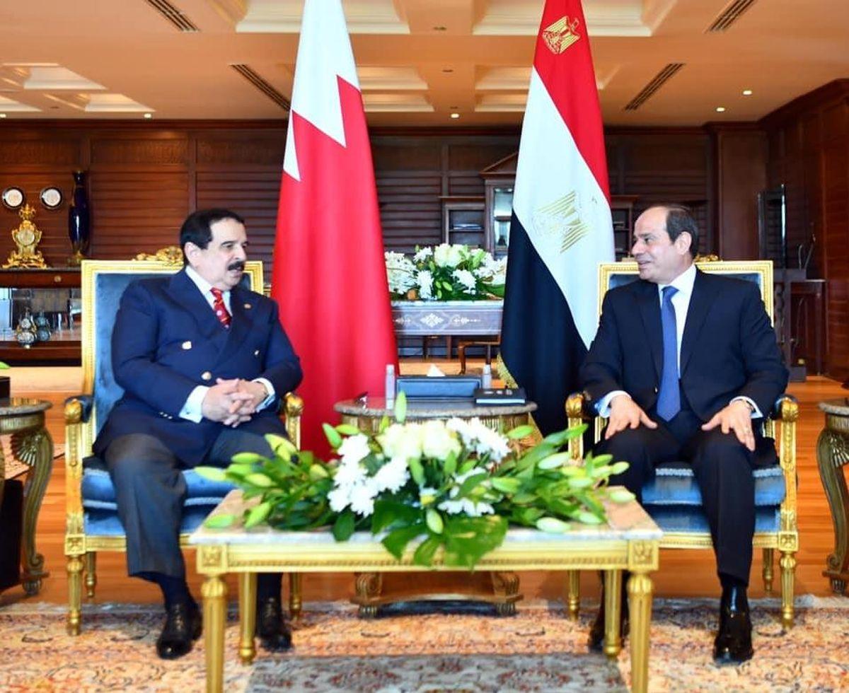 Son Dakika   Mısır Cumhurbaşkanı Sisi, Bahreyn Kralı ile