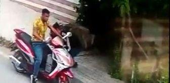 Ilıca: Motosikletle gelip aküleri böyle çaldılar