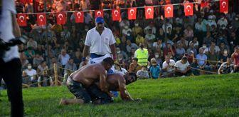 Vatan: Biga Yağlı Güreşlerinin Başpehlivanı İsmail Balaban oldu