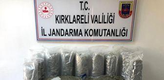 Bulgaristan: KIRKLARELİ - Jandarmadan uluslararası uyuşturucu çetesine operasyon: 7 gözaltı