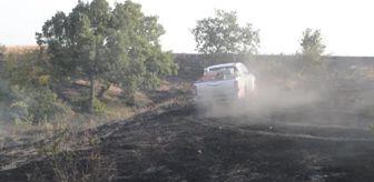 Yangın: Son dakika haberi: KIRKLARELİ - Örtü yangını söndürüldü
