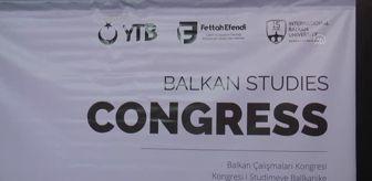 Mustafa Şentop: Kuzey Makedonya 1. Balkan Çalışmaları Kongresi'nin açılışı yapıldı