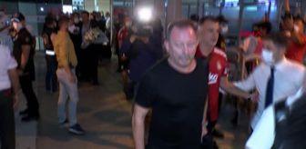 İstanbul: SPOR Beşiktaş, Antalya'ya geldi