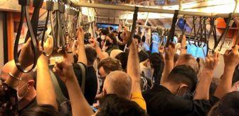 İstanbul: TRAFİK YOĞUNLUĞU YÜZDE 72'YE ÇIKTI METRO-METROBÜSTE SOSYAL MESAFESİZ YOLCULUK