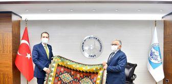 Muhammed Ali Fatih Erbakan: YRP Genel Başkanı Erbakan, Büyükkılıç'ı ziyaret etti