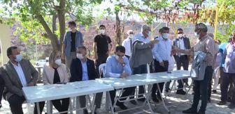 Murat Kurum: Son dakika haber: Bakan Kurum, Manavgat'taki yangında anne ve babasını kaybeden genci ziyaret etti