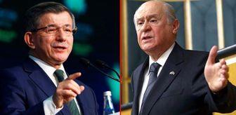 Merkez Bankası: 'Serok Ahmet' tartışmasında Davutoğlu'ndan Bahçeli'ye çok sert yanıt: Artık bir dersi hak etti