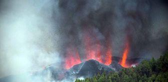 Deprem: 130 depremin ardından Kanarya Adaları'nda yanardağ patladı