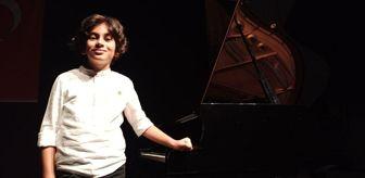 Ankara Sanayi Odası: 4 yaşında piyano çalmayı öğrenen 8 yaşındaki Ali ödüle doymuyor
