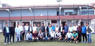 Hamur: Ağrı amatör futbolunda kura çekimi yapıldı