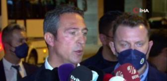 Fatih Terim Stadı: Ali Koç: 'Fenerbahçe'de bir kriz ortamı oluşturup kongre ümit eden bir kadro var'