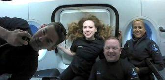 Elon Musk: SpaceX: Inspiration4 astronotları yörüngedeki üç günün ardından dünyaya döndü