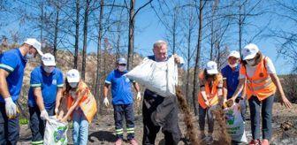 Orman Yangınları: KOMPOST GÜBRE, ALADAĞ'DA YANAN TOPRAKLARA CAN VERECEK