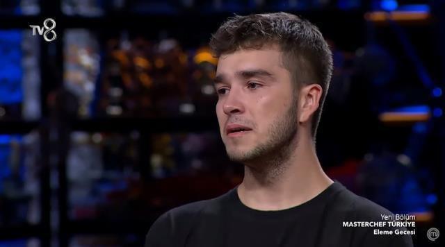 MasterChef Türkiye'ye veda eden yarışmacı gözyaşlarına boğuldu