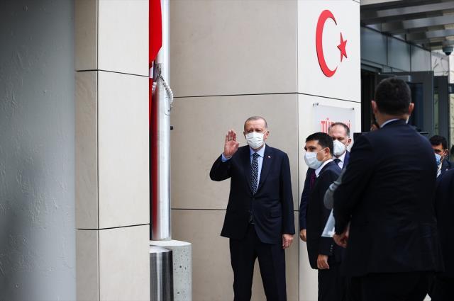 Son Dakika: Cumhurbaşkanı Erdoğan, ABD'deki Türkevi Binası Açılış Töreni'nde konuştu: Türkevimizin kapısı herkese açık