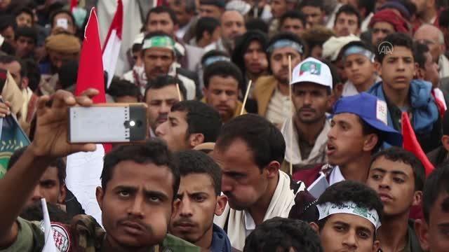 Başkent Sana'nın Husiler tarafından ele geçirilmesinin 7. yıl dönümü