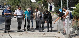 Bitez: Bodrum Kaymakamı Bayar ve Belediye Başkanı Aras, ilçede kış hazırlıklarını denetledi