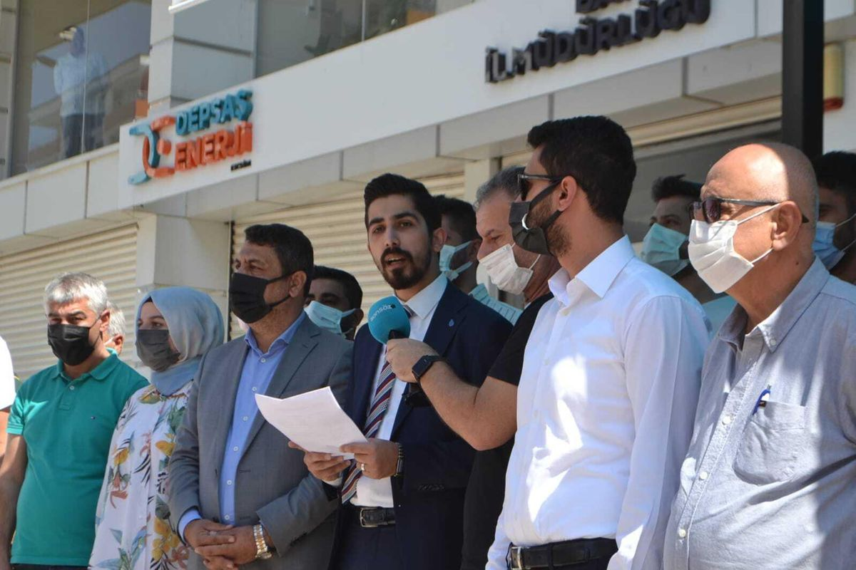 DEVA Partisi Batman İl Başkanı Av. Melik Müjdeci, yüksek elektrik faturalarına isyan etti: Derhal indirim yapılmalı