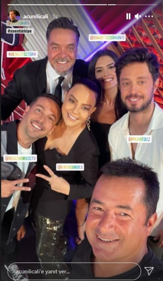 O Ses Türkiye'nin yeni sezon çekimleri başladı! Acun Ilıcalı, yeni jüri üyeleriyle ilk fotoğrafı paylaştı
