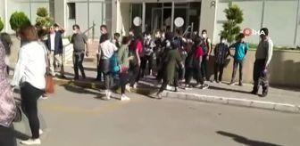 Jandarma Karakolu: Batman'da veli ve öğrenciler okul servislerine tepki gösterdi