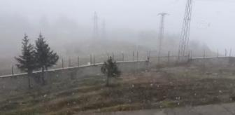 Ilgaz Dağı: KASTAMONU - 'Anadolu'nun yüce dağı' Ilgaz'a mevsimin ilk karı yağdı