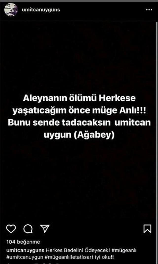 Müge Anlı'yı tehdit eden Ümitcan Uygun'a hapis cezası verildi