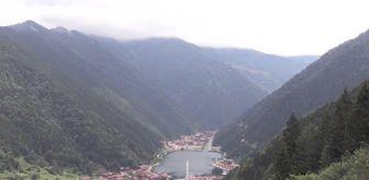 Trabzon: Uzungöl'e ziyaretçi akını