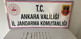 Ankara: Ankara'da tarihi eser operasyonu: 2 gözaltı