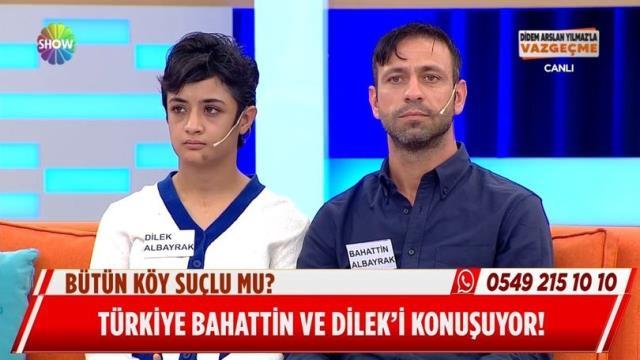 Dilek canlı yayında anlattı, tüm Türkiye gözyaşları içinde izledi! Annesi, genç kızı bütün köye satmış