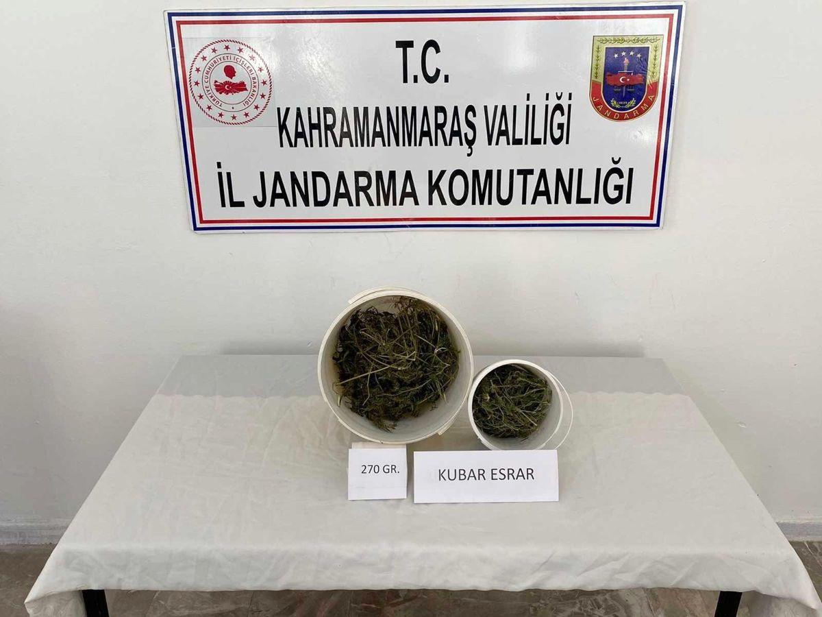Son dakika haberi: Kahramanmaraş'ta uyuşturucuya 1 gözaltı