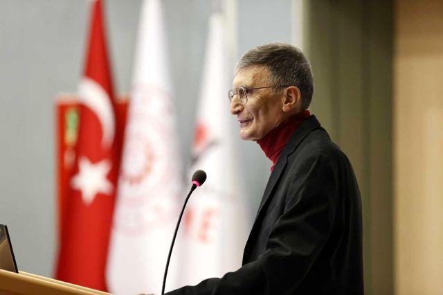 Prof. Dr. Sancar, TÜBİTAK Fen Lisesi'nde öğrencilerle buluştu