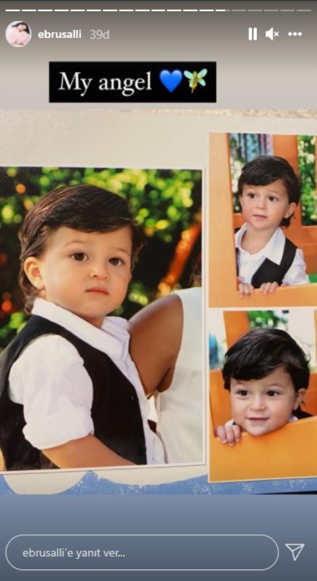 Ebru Şallı, 9 yaşında vefat eden oğlunu doğum gününde paylaşımlarıyla andı