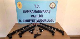 Kahramanmaraş: Kahramanmaraş'ta 8 adet silah ele geçirildi