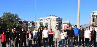 Nazilli: Nazilli'de Avrupa Hareketlilik Haftası kapsamında sağlık için yürüdüler