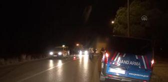Sorgun Mahallesi: Tur otobüsü ile otomobilin çarpıştığı kazada 2 kişi yaralandı