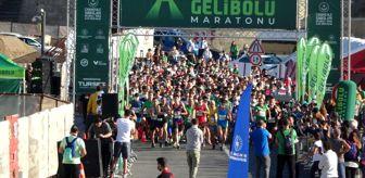 Eceabat: Uluslararası Gelibolu Maratonu koşuldu