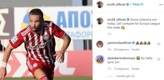 Fenerbahçe'ye gözdağı veren Valbuena, Sarı-Lacivertli taraftarları kızdırdı