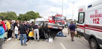 Land Rover: Ciple çarpışan otomobil takla attı: 4 yaralı