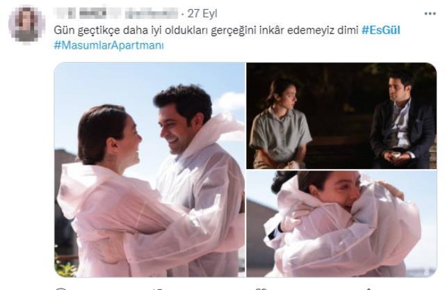 Gülben ve Esat'ın evlilik kararı Masumlar Apartmanı'na damga vurdu! Sosyal medyada yorum yağıyor