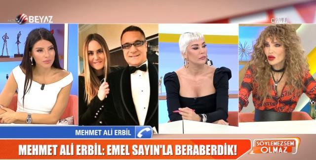 Mehmet Ali Erbil yıllar sonra itiraf etti: Emel Sayın'la 3 ay birlikteydik