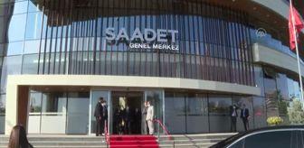 Mehmet Bekaroğlu: Saadet Partisi YİK Başkanı Asiltürk'ün vefatının ardından partiye taziye ziyaretleri sürüyor