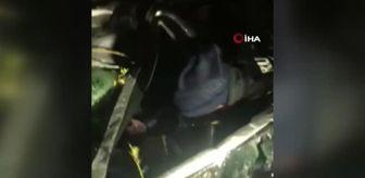 Tekman: Kayıp öğretmen aracıyla şarampole yuvarlanmış halde bulundu
