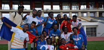 Tömer: Karabük Üniversitesi Dünya Kupası Turnuvası'nda Çad şampiyon oldu