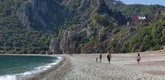 Çıralı: Çıralı sahilleri Rus turistlere kaldı